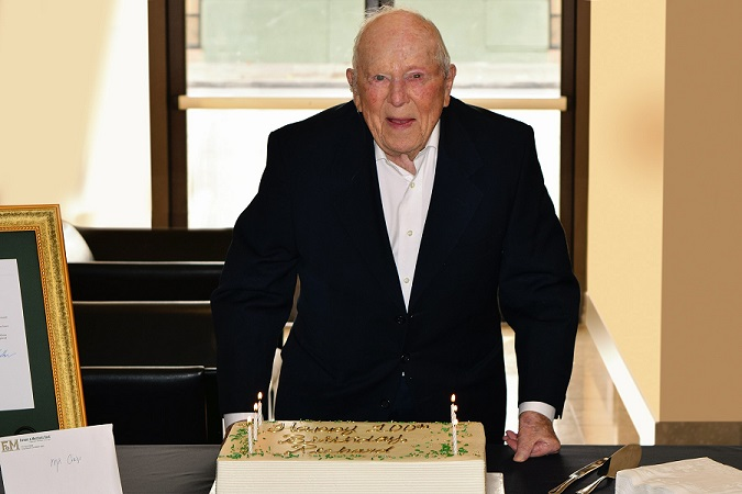 Richard Cords Celebrating 100th Birthday
